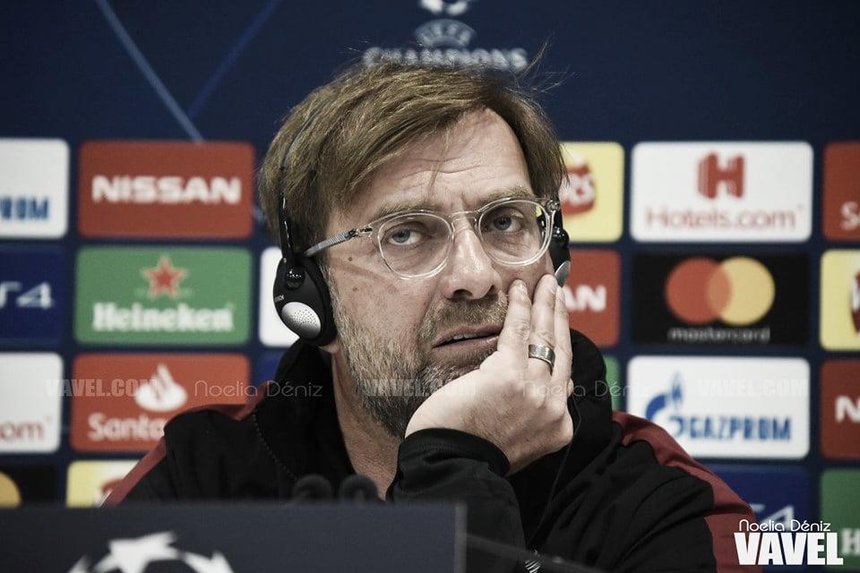 "Jürgen Klopp: ""Salah no puede jugar"""