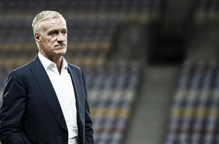 """Deschamps lamenta empate da França pelas Eliminatórias: """"Deixamos dois pontos para trás"""""""