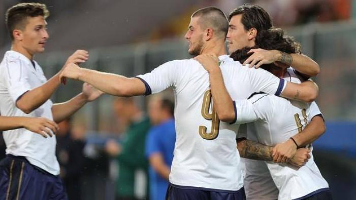 L'Italia U21 batte tre colpi: Moldavia battuta grazie a Di Francesco e Pellegrini