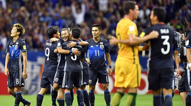 Resumen y goles: Japón 2-1 Australia por Eliminatorias Asiáticas