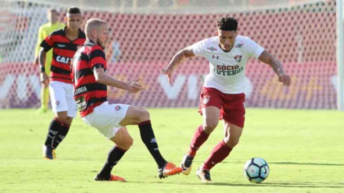 Resultado e gols de Vitória 1x2 Fluminense pelo Campeonato Brasileiro 2018