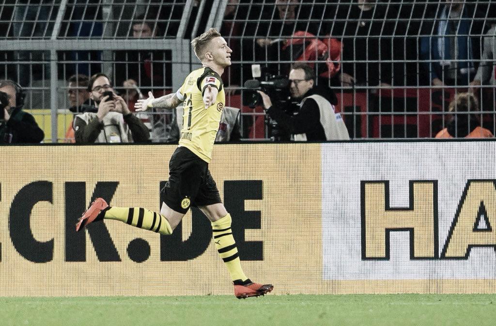 Em dia de golaços, Reus marca dois e comanda massacre do Borussia Dortmund sobre Nuremberg