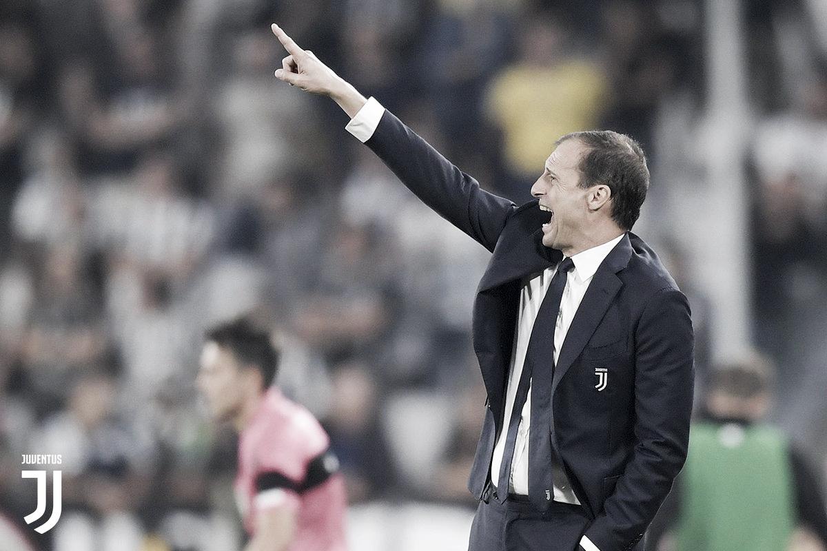 "Allegri exalta fase de Cristiano Ronaldo na Juventus: ""Está curtindo seu futebol"""