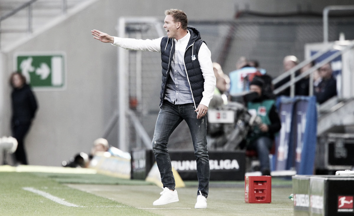 "Nagelsmann acredita em derrota injusta do Hoffenheim: ""Merecíamos um empate"""