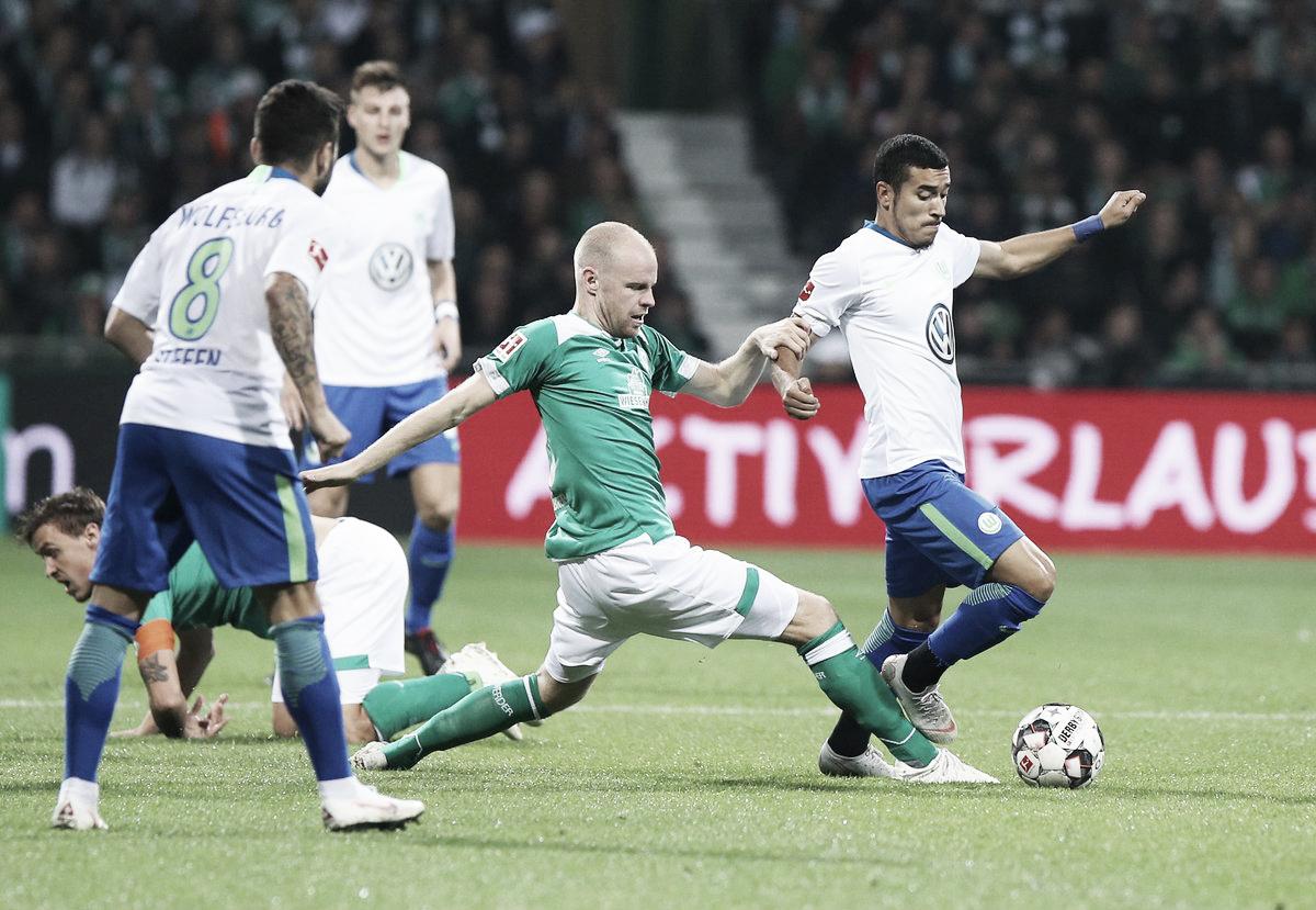 Werder Bremen bate Wolfsburg e assume vice-liderança temporária na Bundesliga