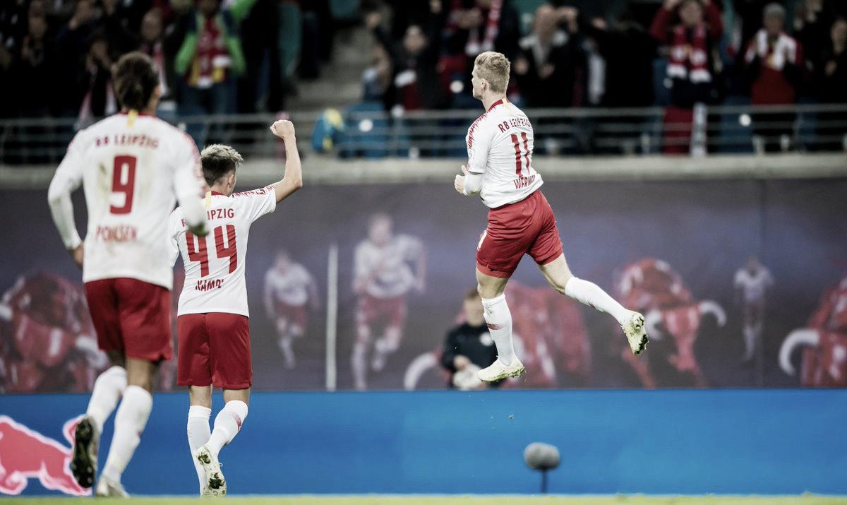 RB Leipzig aplica goleada histórica no Nuremberg com show de Timo Werner