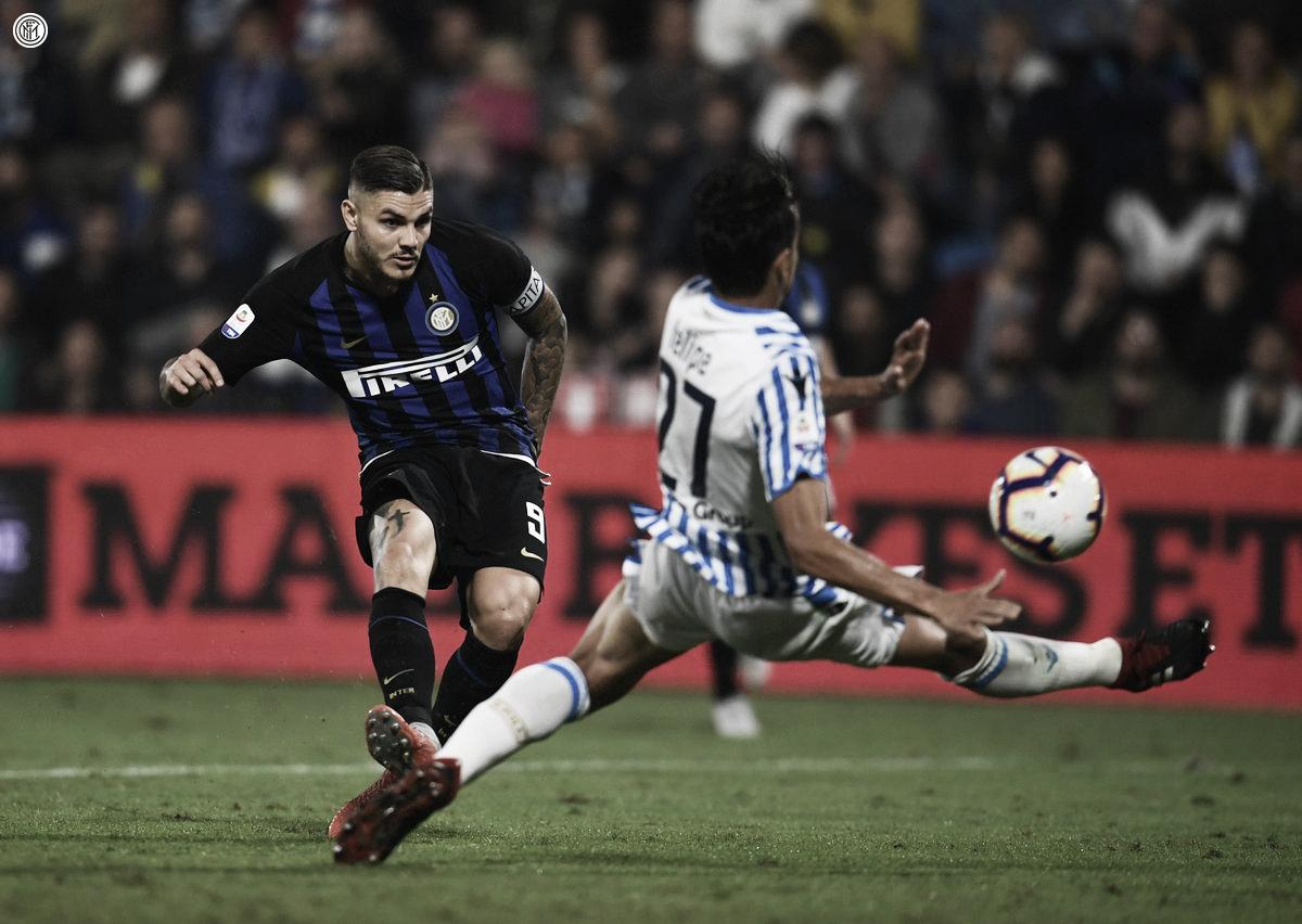 Icardi marca duas vezes e garante vitória da Internazionale sobre SPAL