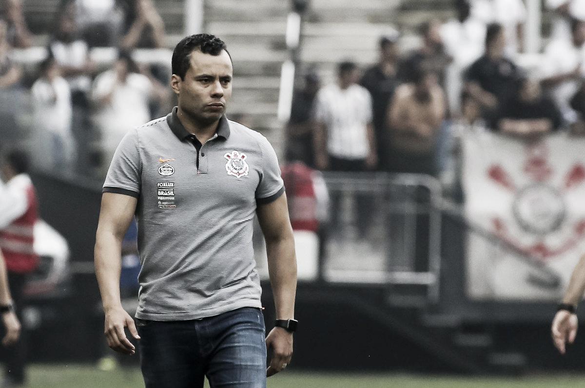 """Jair Ventura comenta atuação do Corinthians após clássico: """"Hoje é só parabéns"""""""