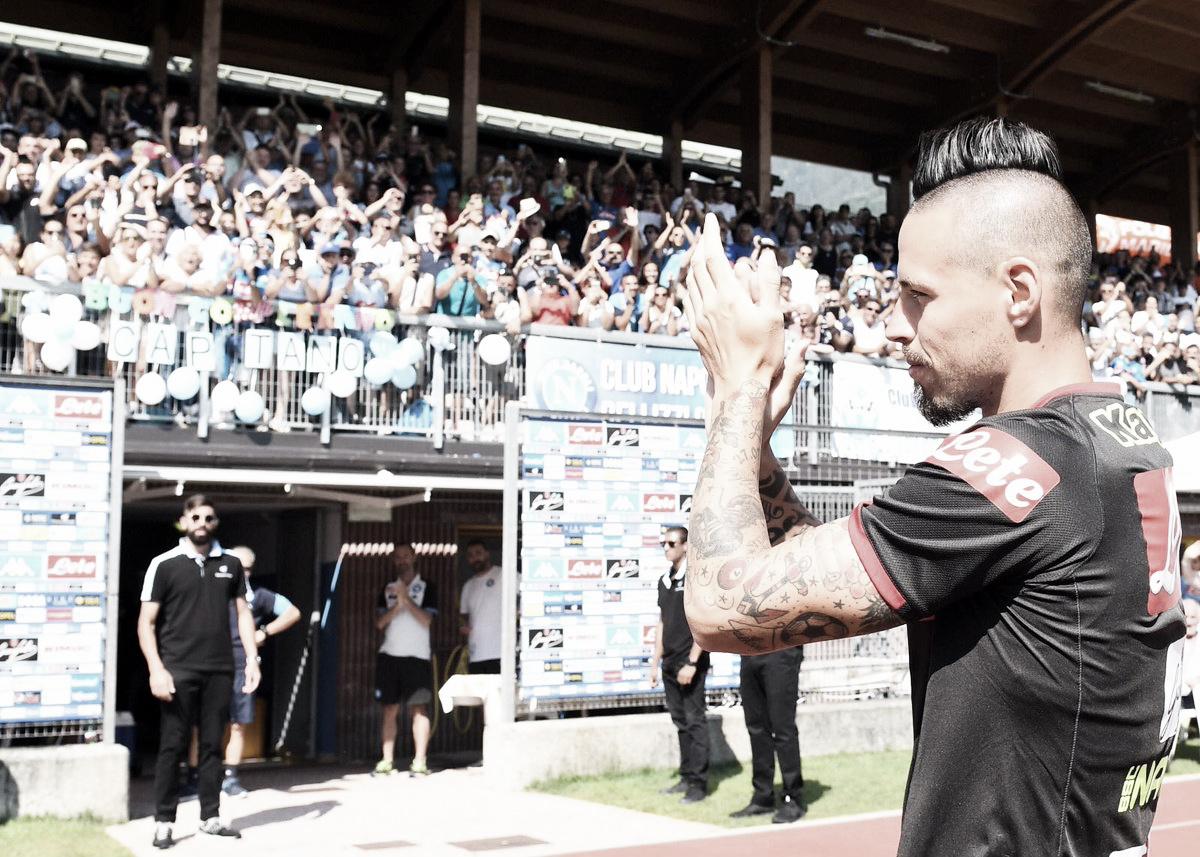 Ídolo no Napoli, Hamsik revela que quase acertou com Borussia Dortmund há dois anos