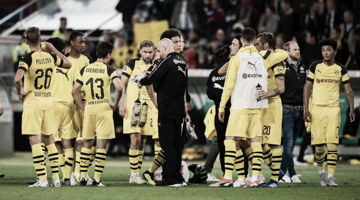 """Lucien Favre analisa empate do Borussia Dortmund com Hannover: """"Resultado foi justo"""""""