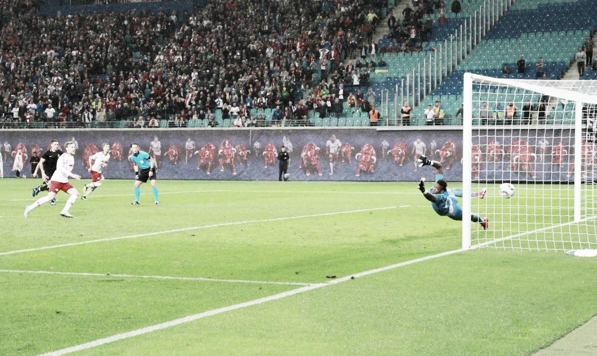RB Leipzig bate Zorya Luhansk em jogo de duas viradas e se classifica para fase de grupos da UEL