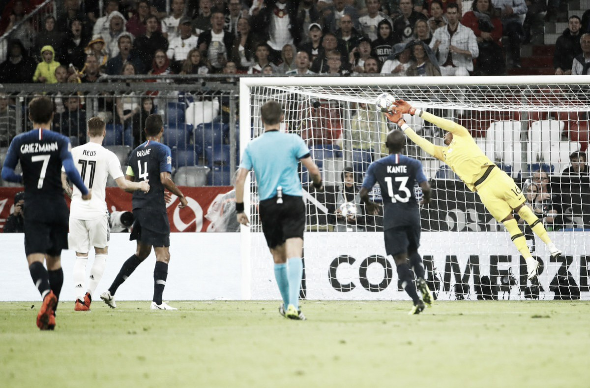 Em dia de Areola, Alemanha e França empatam sem gols na estreia da Liga das Nações