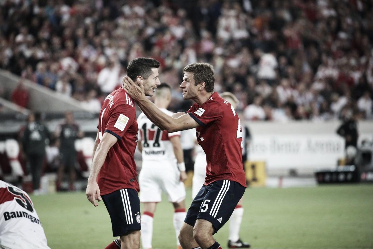 Bayern dá show fora de casa e vence Stuttgart na Bundesliga