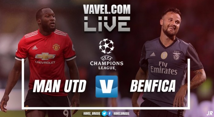 Resultado Manchester United x Benfica na Uefa Champions League 2017 (2-0)