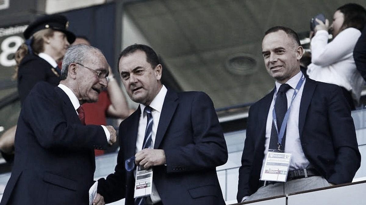 El alcalde de Málaga ayudará con 350.000 € al Málaga CF