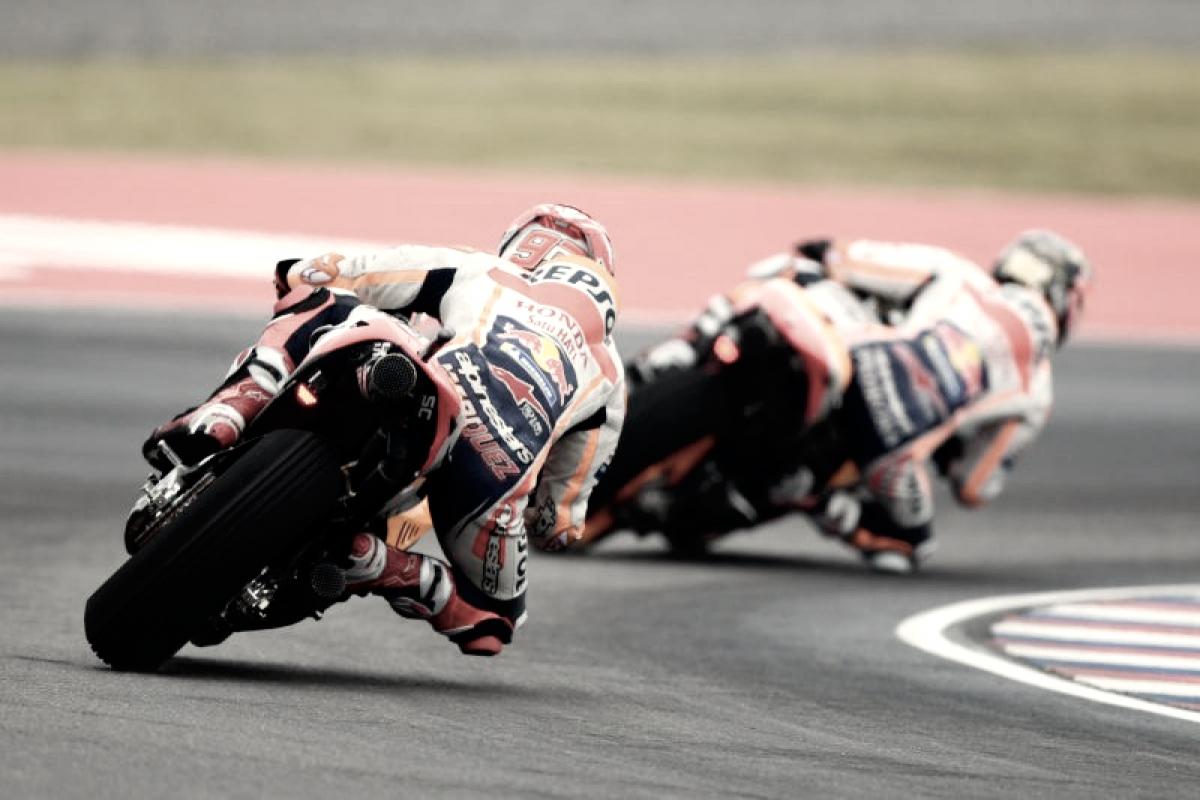 Los neumáticos del Gran Premio de Austin