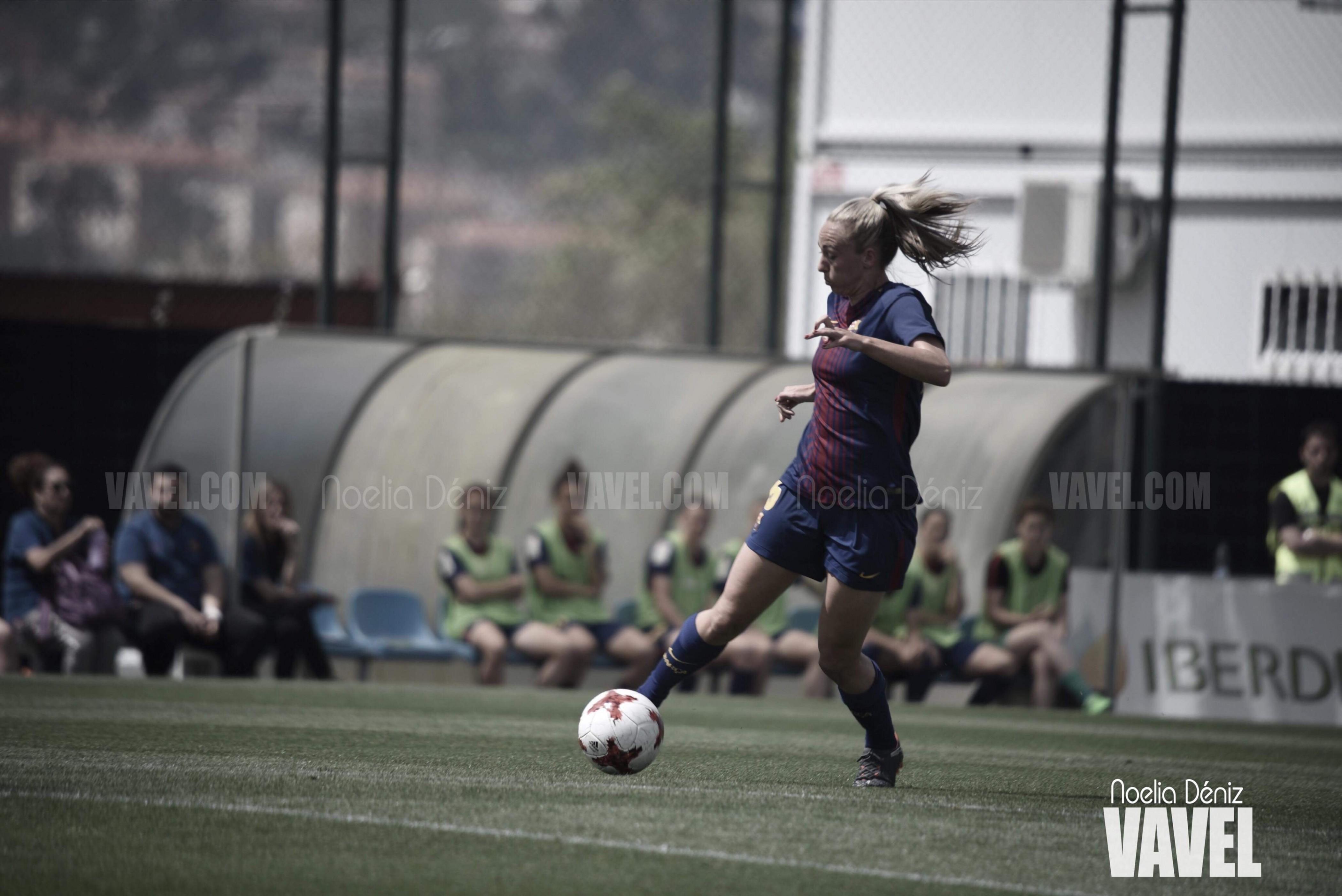 """Toni Duggan: """"Mi atención se centra en el Barcelona y luego en el Mundial"""""""