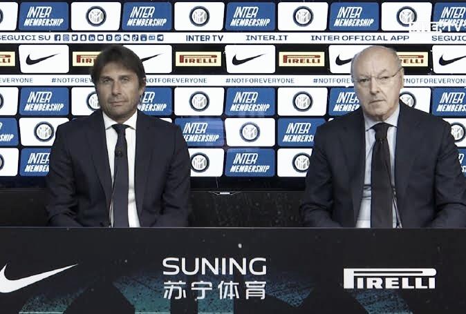 """Proprietário da Inter, Beppe Marotta alerta sobre contratações para a temporada: """"Tempos mudaram"""""""