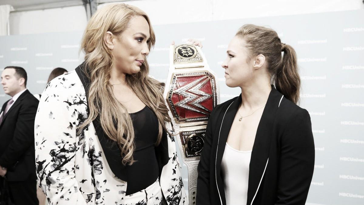 La primera de Ronda Rousey