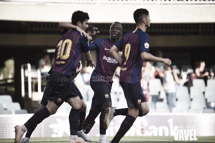 El Barça B vence en Ontinyent con un gran Aleñá