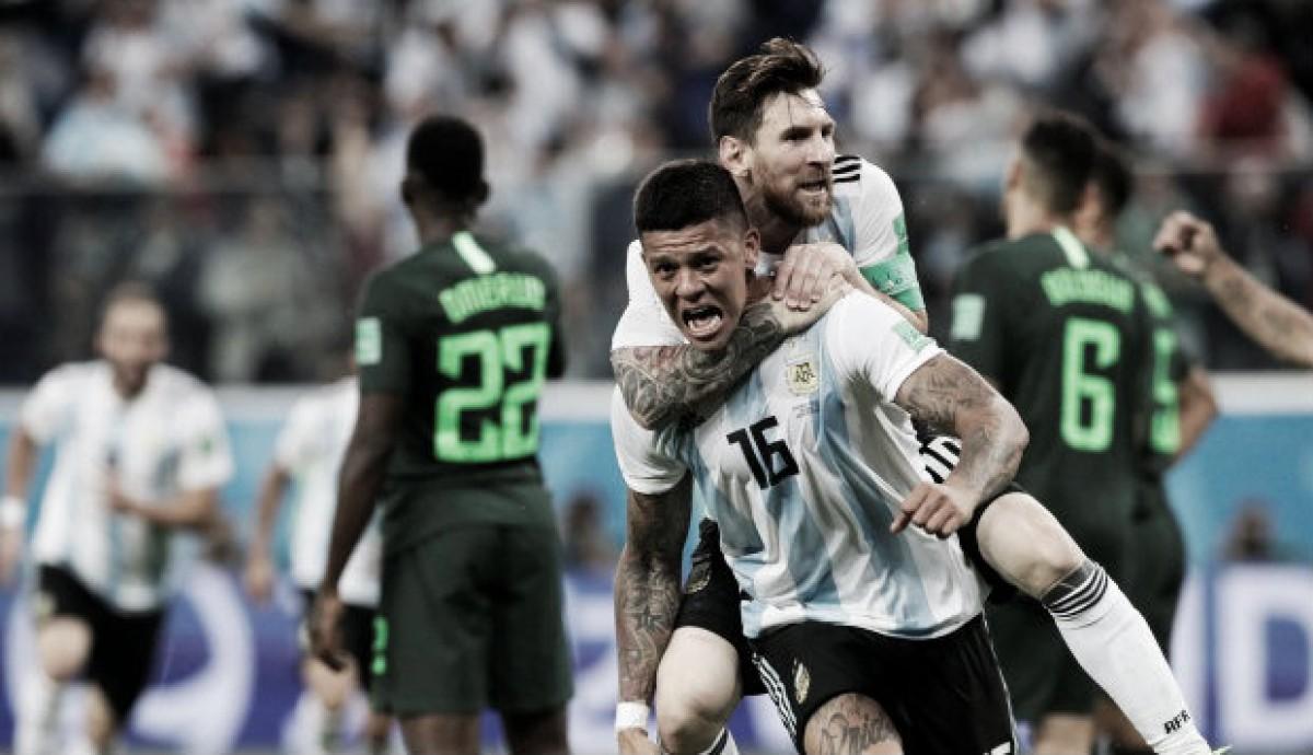 De una oscura eliminación a un rojo amanecer; Argentina en Octavos de Final