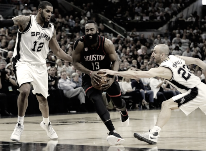 NBA Playoffs: Houston da favola, San Antonio demolita (99-126)