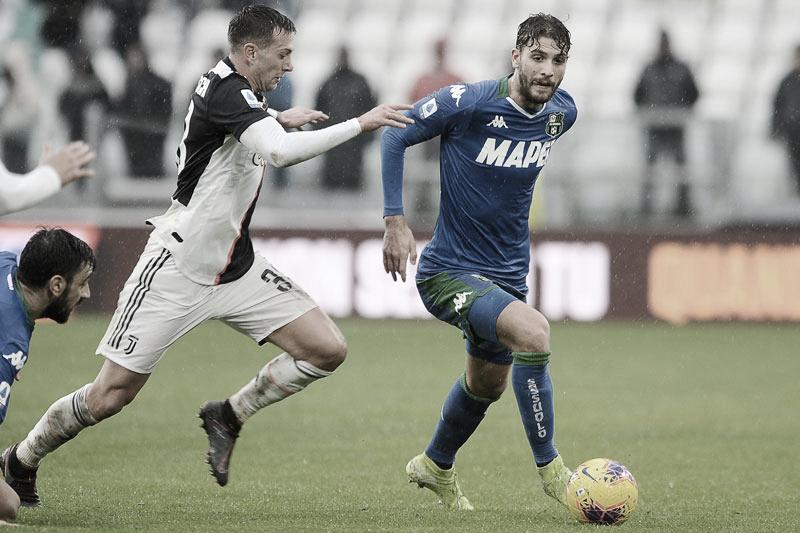 Diante de crescente Sassuolo, Juventus mira reabilitação para se aproximar do título
