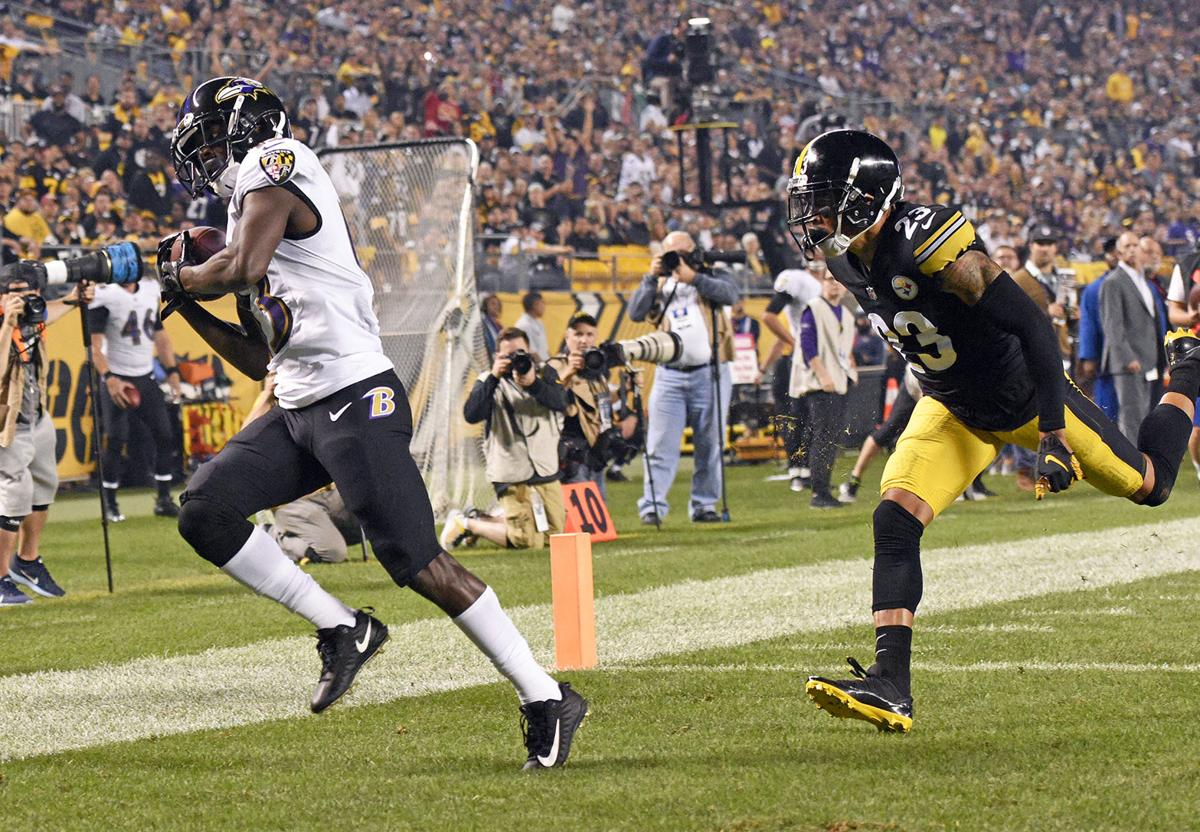 Baltimore Ravens win on the road against the Pittsburgh Steelers
