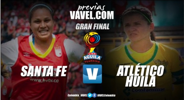 Santa Fe - Atlético Huila: Por el primer campeonato del fútbol femenino colombiano