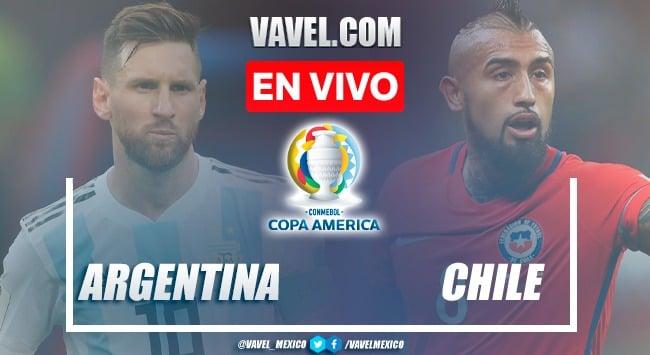 Resumen y goles: Argentina 1-1 Chile en Fase de Grupos de la Copa América 2021