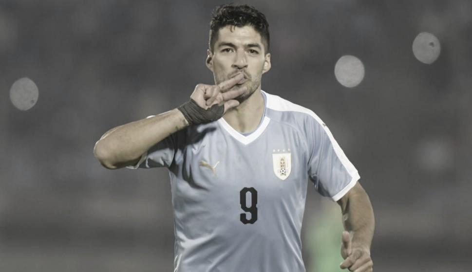 El podio de Uruguay