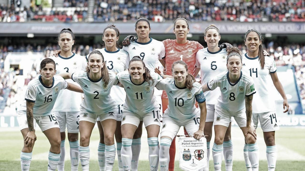 Selección Femenina Argentina: Debut, empate y primer punto ante Japón