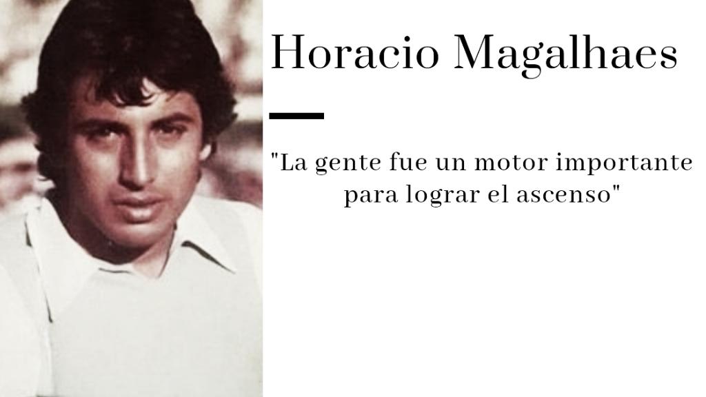 """Horacio Magalhaes: """"Es un halago estar en la historia del club"""""""