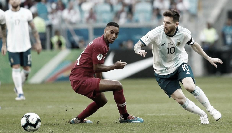 Argentina, sin brillar, se metió a cuartos de final de la Copa América