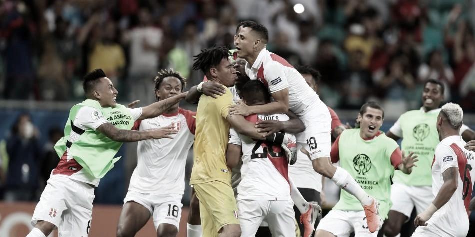Perú avanzó a la semifinal de la Copa América tras vencer en penales a Uruguay