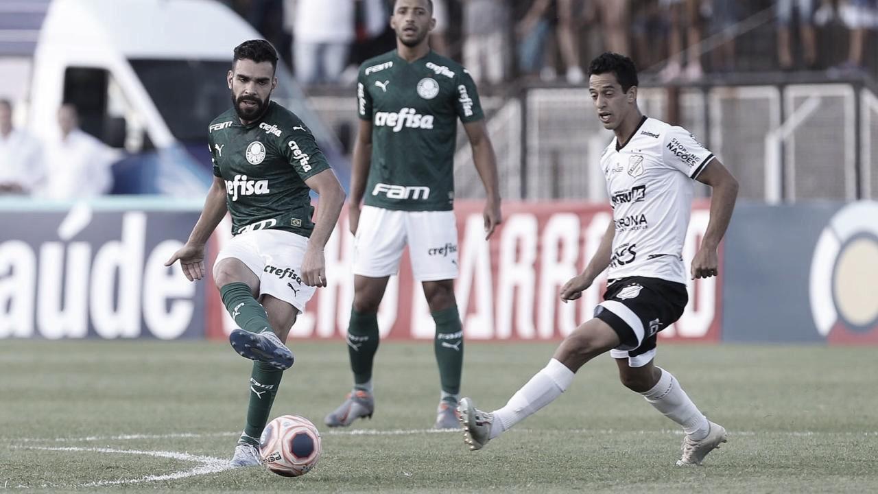 Em jogo repleto de cartões, Inter de Limeira e Palmeiras empatam sem gols
