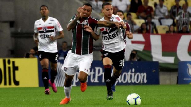 São Paulo x Fluminense AO VIVO hoje (0-2)