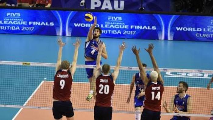 Volley M - L'Italia cede agli Usa e la Final Six di World League si allontana sempre più