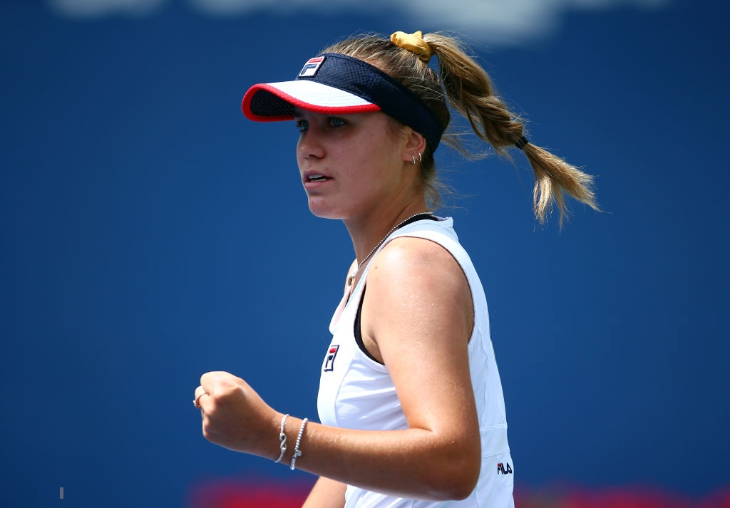 Sofia Kenin qualifies for the WTA Elite Trophy