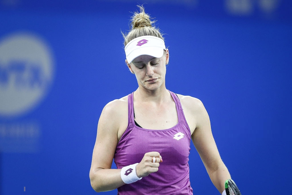 Alison Riske qualifies for the WTA Elite Trophy