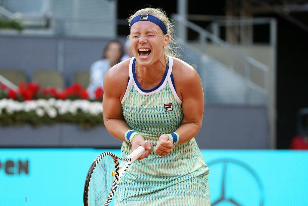 Kiki Bertens qualifies for the WTA Elite Trophy