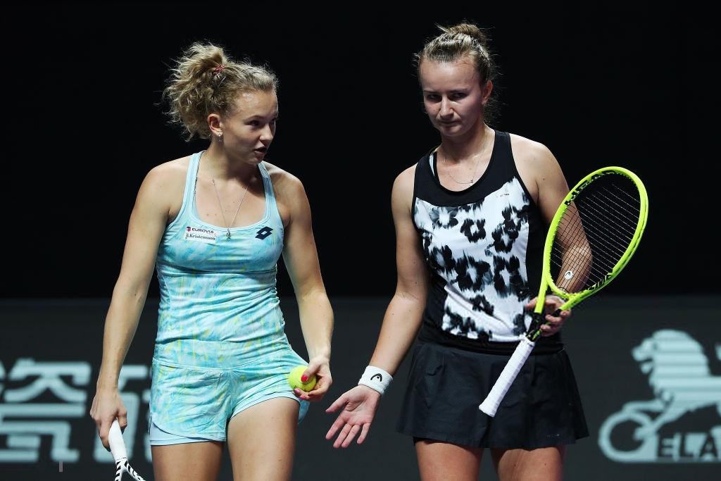 WTA Finals: Barbora Krejcikova and Katerina Siniakova off to fantastic start