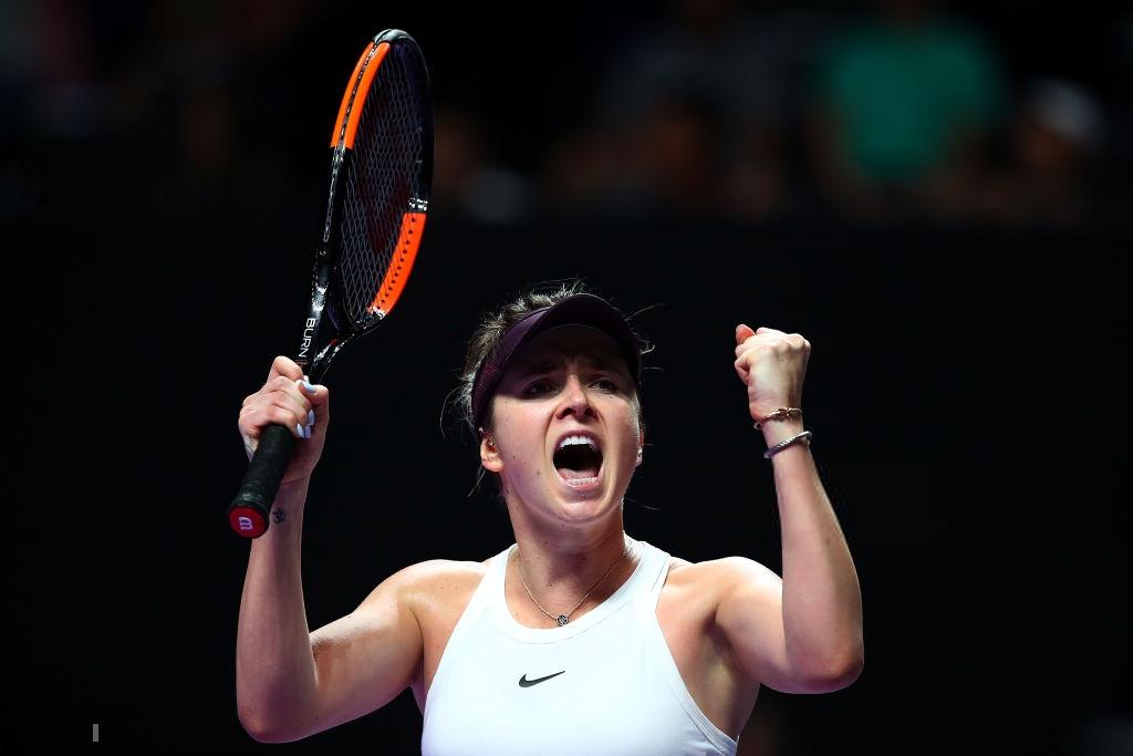 WTA Finals: Defending champion Elina Svitolina off to perfect start
