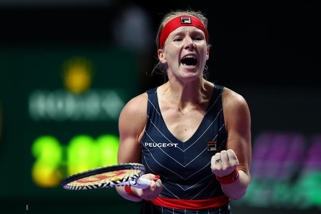 WTA Finals: Kiki Bertens steps up to the occasion, stuns Barty in three