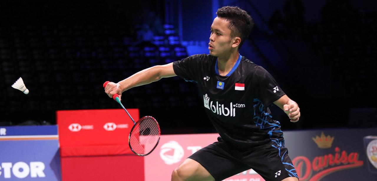 Anthony Ginting Tersingkir dari Denmark Open 2018