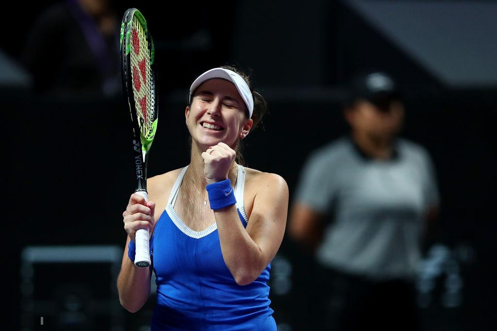 WTA Finals: Brilliant Bencic stuns erratic Kvitova in three sets