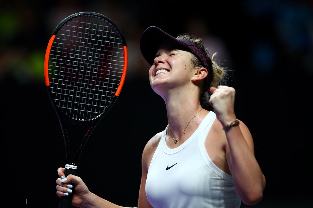 WTA Finals: Solid Svitolina stuns Halep in straight sets