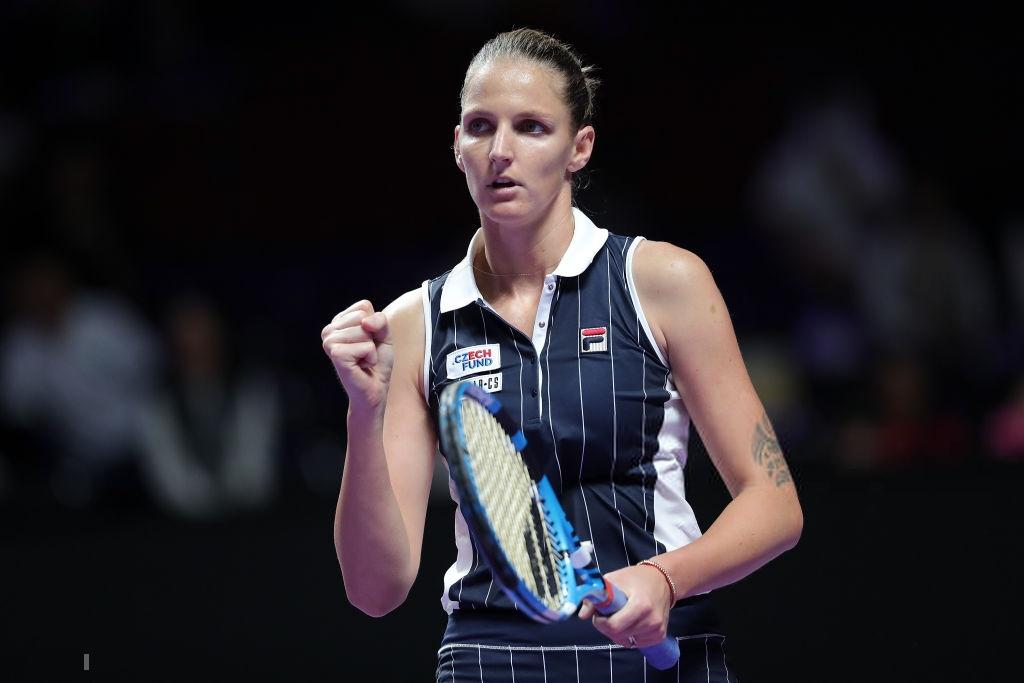 WTA Finals: Pliskova clinches first Shenzhen win with Andreescu retirement