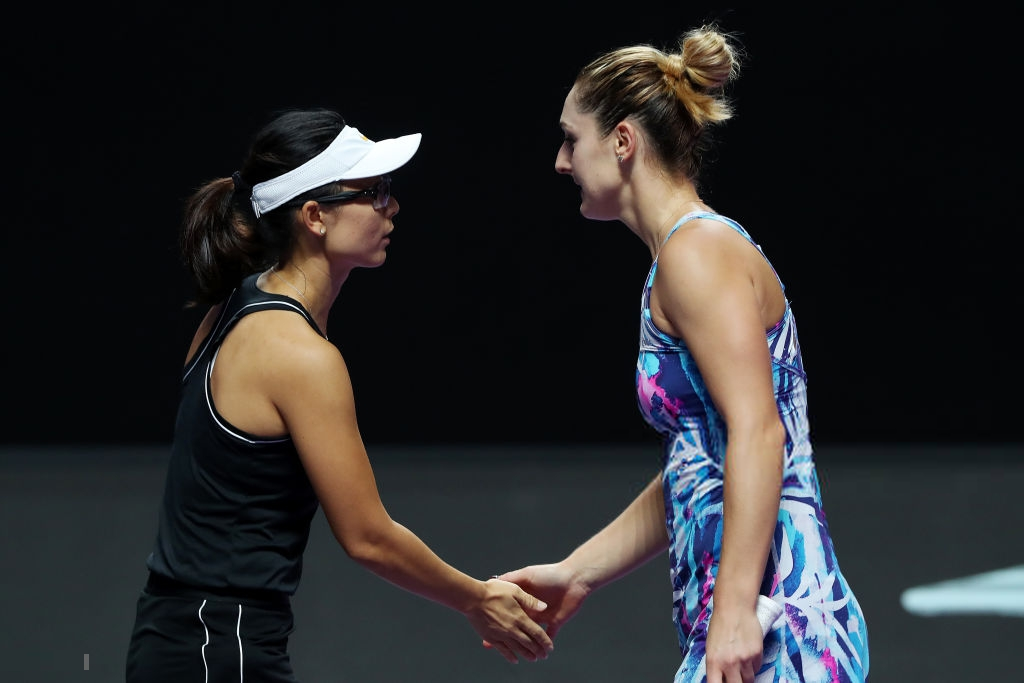 WTA Finals: Gabriela Dabrowski and Xu Yi-fan bounces out in style