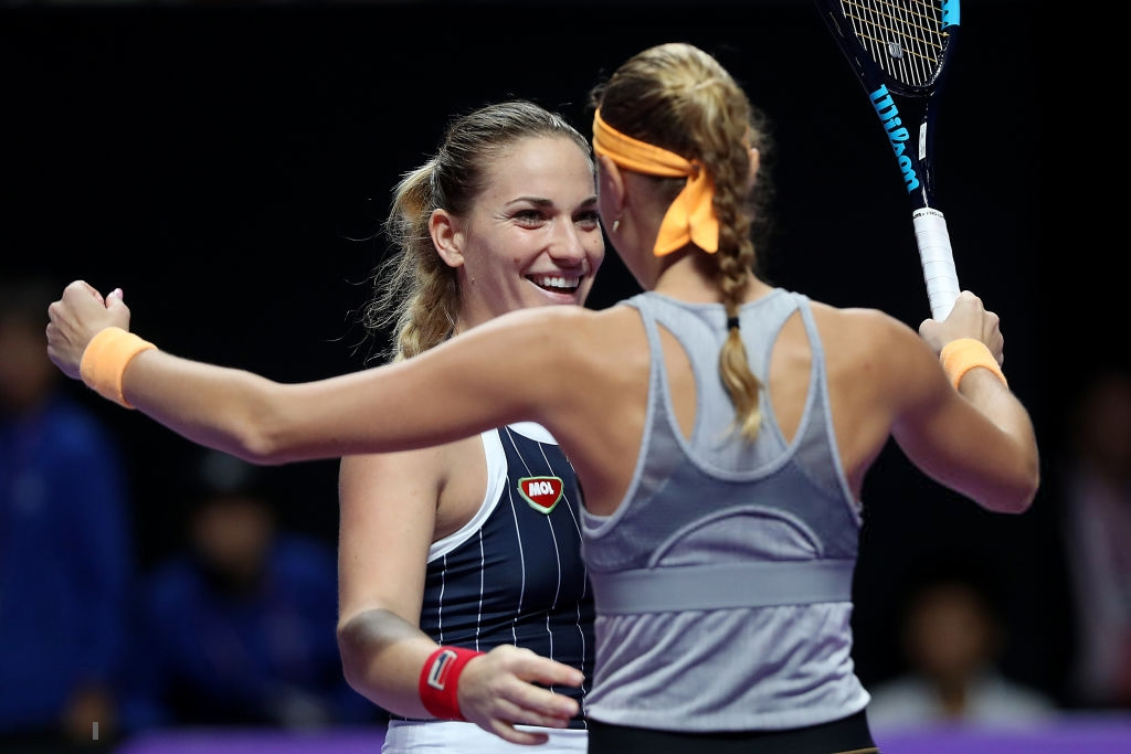 WTA Finals: Babos and Mladenovic produce massive fightback to prevail
